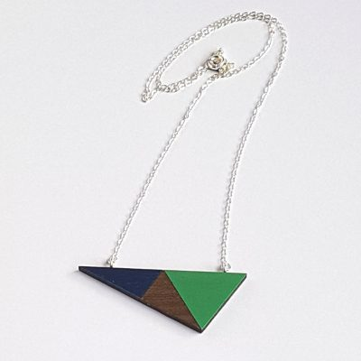 Geo Triangle Green