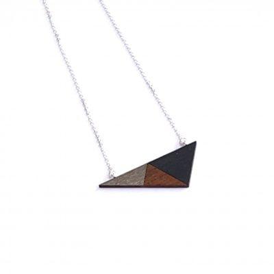 Geo Triangle Silver
