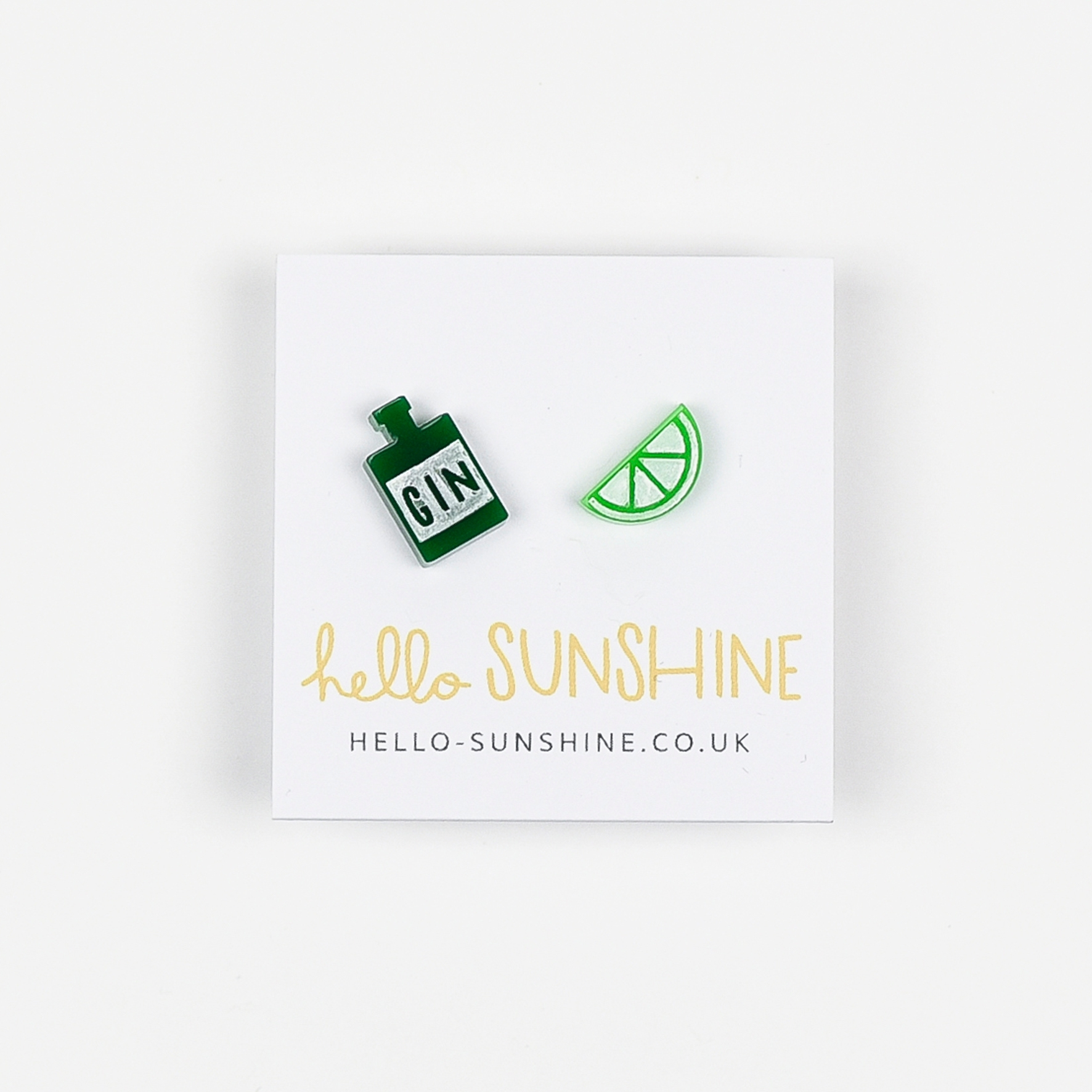 Gin n Juice Earrings by Hello Sunshine