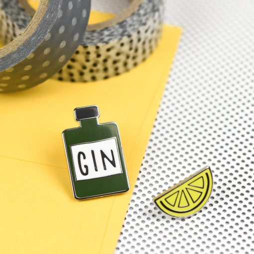Gin 'n' Juice Pin Set by Hello Sunshine