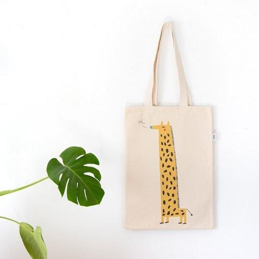 Margarita the Giraffe Tote Bag by Mon Collection