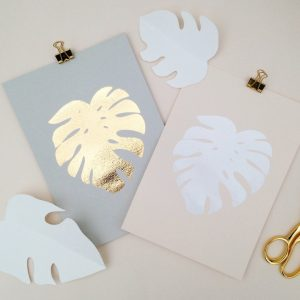 cheese plant screen prints, perfect for the non green fingered amongst us
