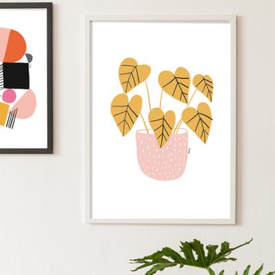 Plants, Isa Form, Digital Print
