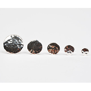 Hammered_studs_five_small_large