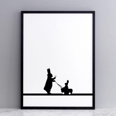 Insta Baby Rabbit Print