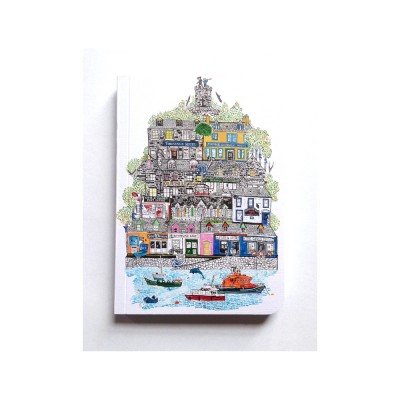 Isle note book a6 by Libby walker - front