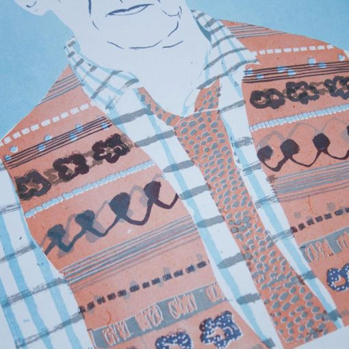 Ivor Cutler Risograph by Thundercliffe Press