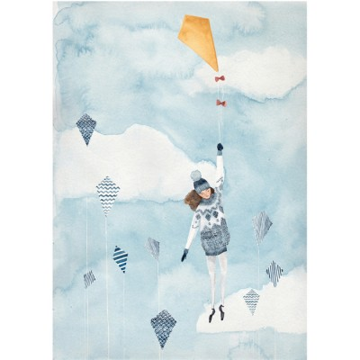 Kite Flyer by Claire Fleck