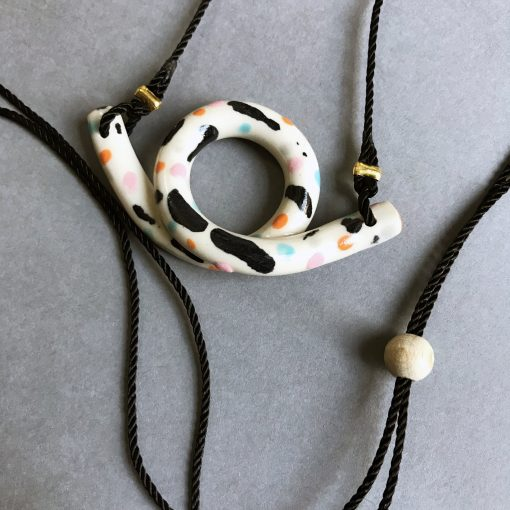 Loop Necklace by Aliyah Hussain