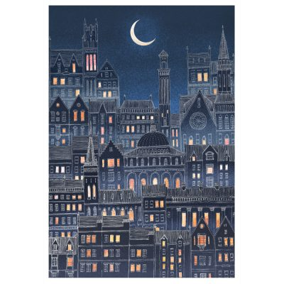 Luna City by David Fleck