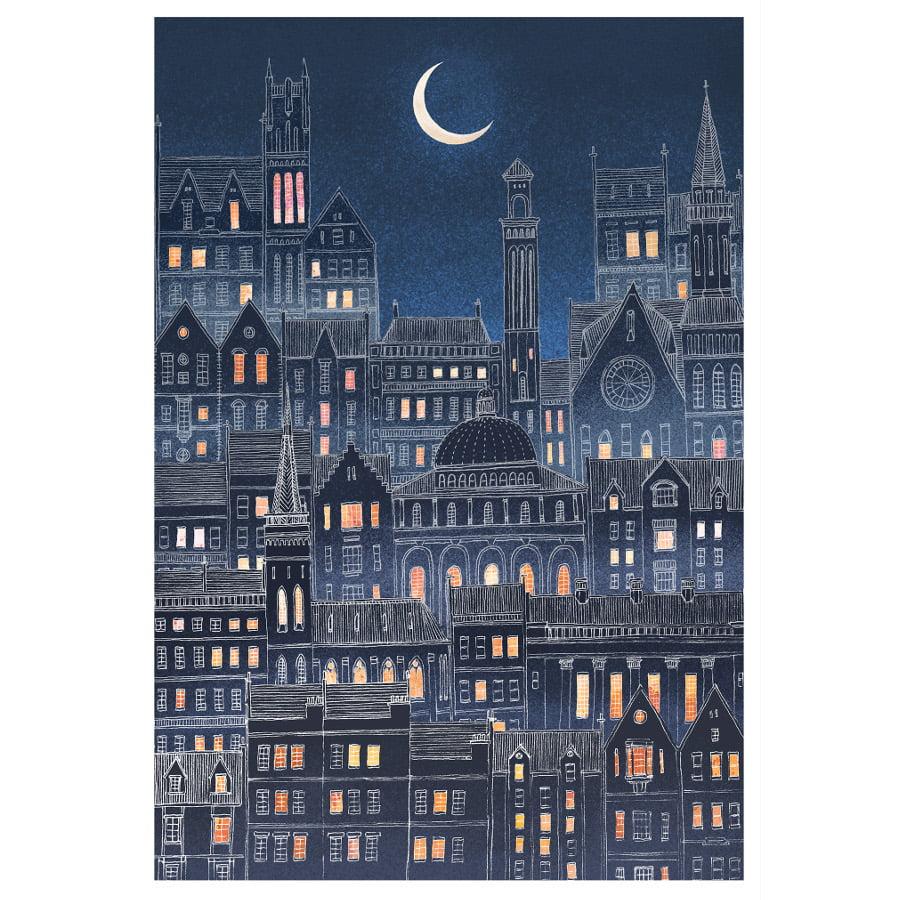 Luna City by David Fleck