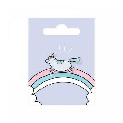 Magical unicorn pin