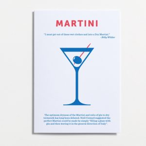 Martini, if it's good enough for Bond, Shaken not stirred!