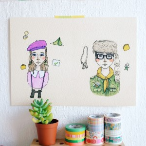 Susie and Sam, the cute characters from Wes Anderson's Moonrise Kingdom and its beautiful love story