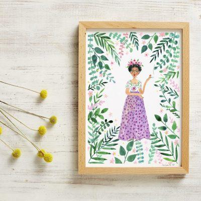New Frida Print