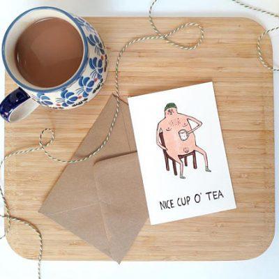 Nice cup o tea