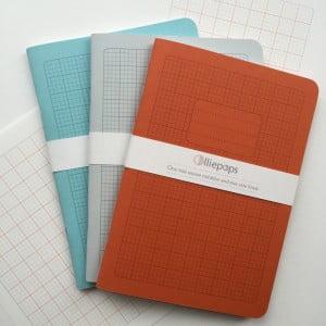 olliepops, notebooks, weavers, screenprinters, artists, design, school notebooks