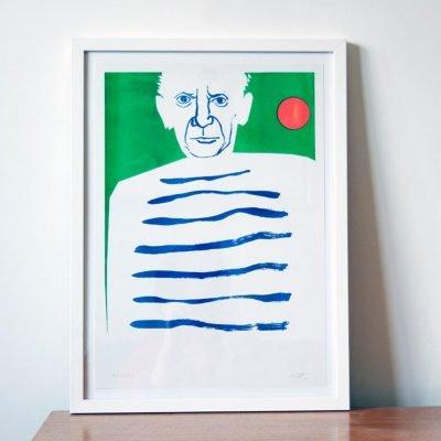 Pablo Picasso Risograph