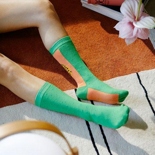 Papaya Socks by DOIY Design