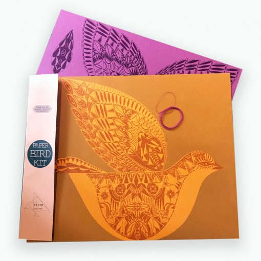 Paper Bird Kit by Kirsty Baynham