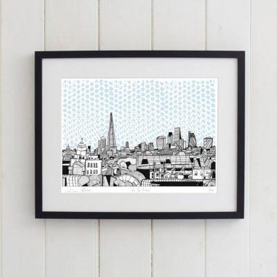 Peckham_View_Print_in_Frame