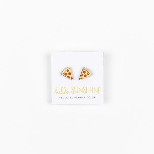 Pizza Slice Earrings by Hello Sunshine