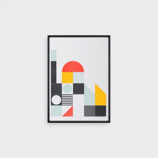 play, letterpress, building blocks, tom pigeon, minimalist