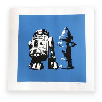 R2D2 by Barry Bulsara