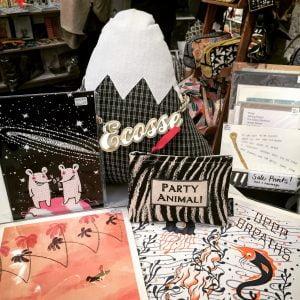 roll up roll up, sale bargains, bargain corner, sale, prints, cushions, jewellery, purses