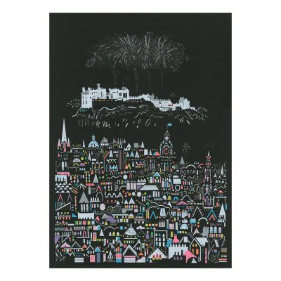 Firework by Susie Wright - Limited Edition Screen Print