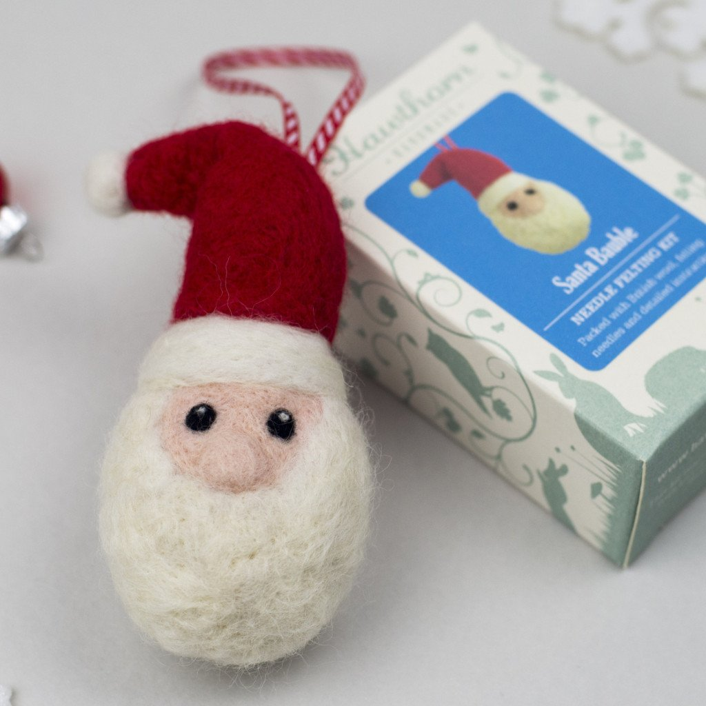 Santa Bauble Kit for Crafternoon Fun