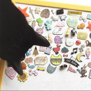 hello sunshine, strong pin game, enamel pin badges, brooches, metal pins