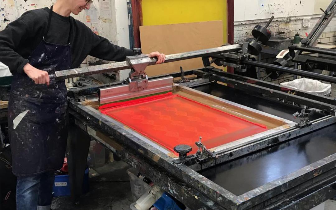Screen Printing Week – Meet the Maker – Let's Meet Susie Wright