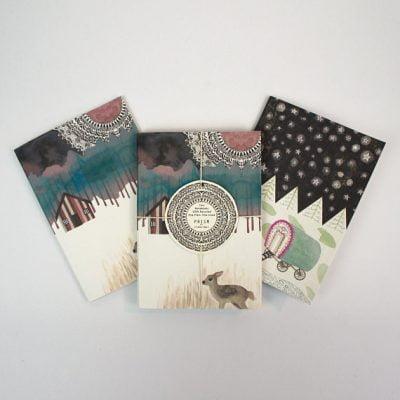 Set of 2 Deer Notebooks