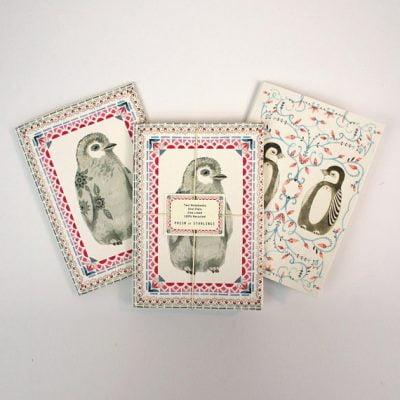Set of 2 Penguin Notebooks