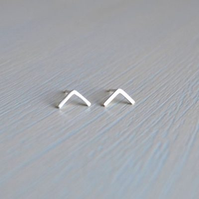 Darte Chevron Earrings by Darte Jewellery