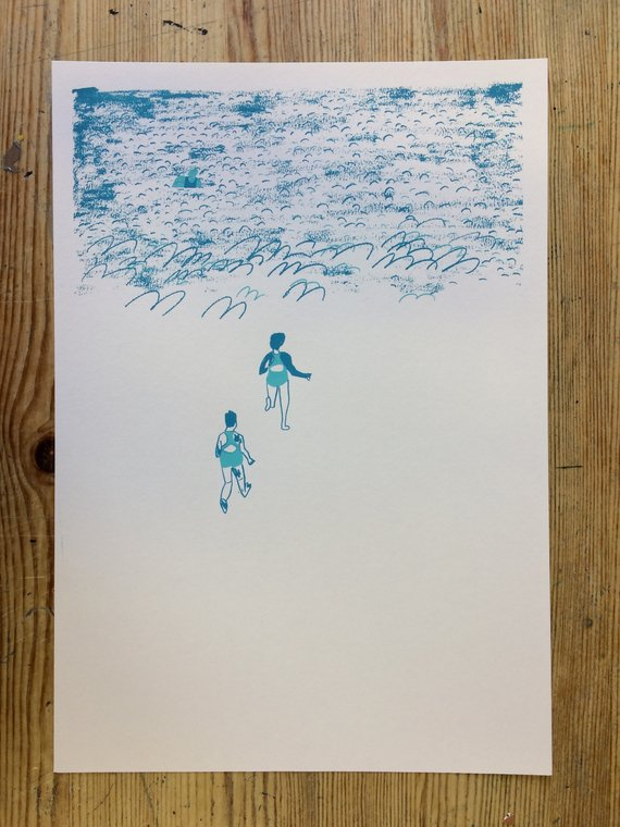 Swimmers by Louise Smurthwaite