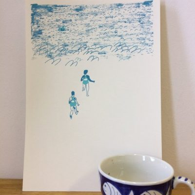 Swimmers A4
