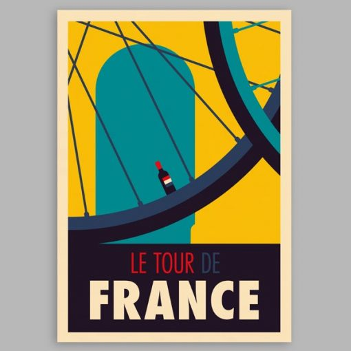 Le Tour by Spencer Wilson