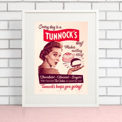 Tunnocks Teacakes by Barry Bulsara, Scottish Biscuits, Advertising