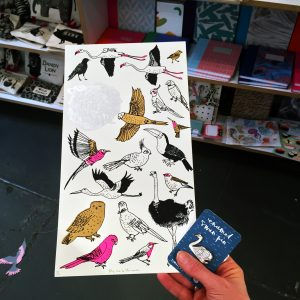tweet little bird blog, a celebration of all things birdy at The Red Door Gallery