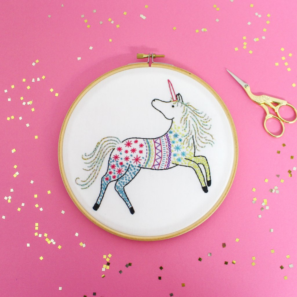 Comtemporary Embroidery Kits by Hawthorn Handmade for Crafternoon Fun - Available at The Red Door Gallery