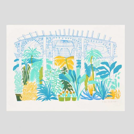 The Botanic Gardens Risograph by East End Press