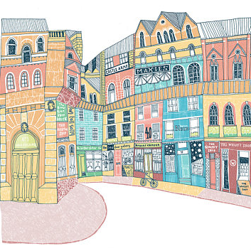 Victoria Street Edinburgh by Eilidh Muldoon