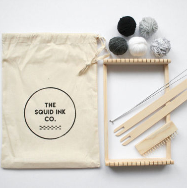 Weaving Loom Kit by Squid Ink at The Red Door Gallery