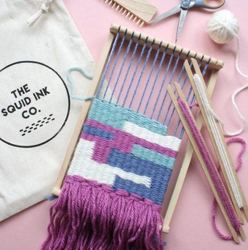 Weaving Loom Kit by Squid Ink at The Red Door Gallery