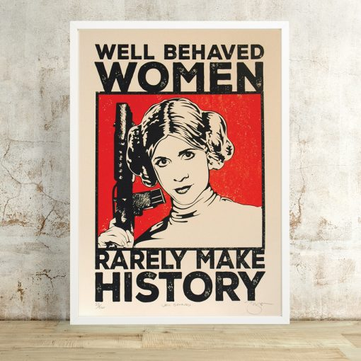 Well Behaved Woman by Barry Bulsara, Star Wars, Princess Leiia