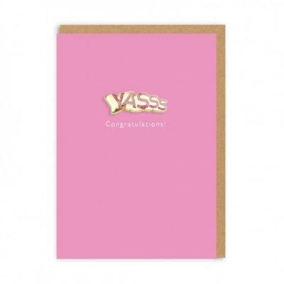 Yasss card
