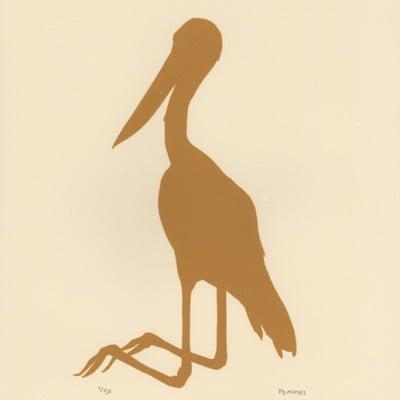 Yellow Stork