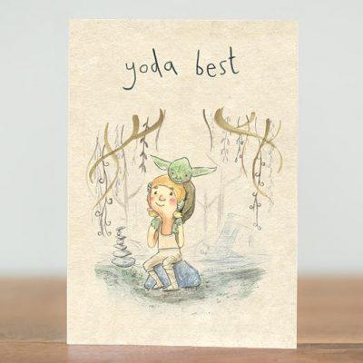 Yoda Best Card